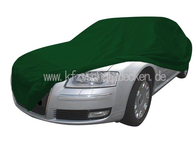 CarCover Satin Green For Audi A - Audi a8 car cover