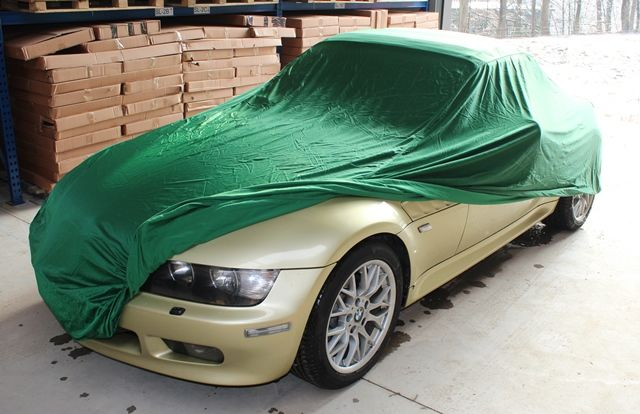 Car Cover Satin Green For Bmw Z3