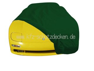 Car-Cover Satin Grün für De Tomaso Guara