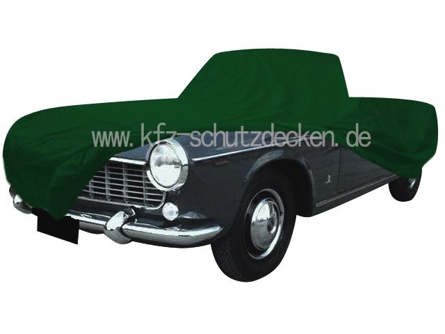 car cover satin gr n f r fiat 1500 spider. Black Bedroom Furniture Sets. Home Design Ideas