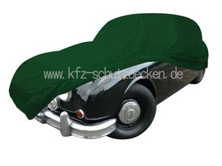 Car-Cover Satin Grün für Jaguar MK2