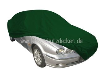 Car-Cover Satin Grün für Jaguar X-Type