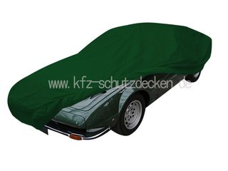 Car-Cover Satin Green for Lamborghini Jarama