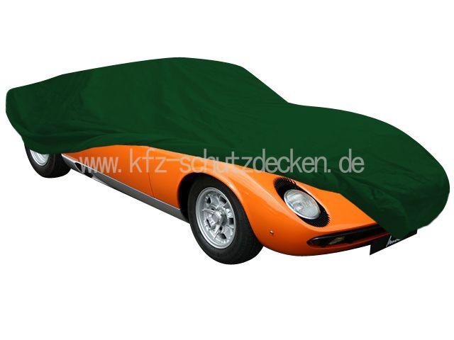 Car Cover Satin Green For Lamborghini Miura S