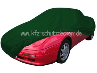 Car-Cover Satin Grün für Lotus Elan