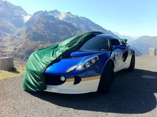 Car-Cover Satin Grün für Lotus Exige