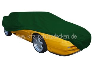 Car-Cover Satin Grün für Lotus Esprit