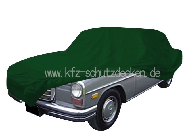 Car cover satin green for mercedes 200 280 e 8 w115 for Mercedes benz e350 car cover