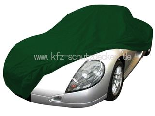 Car-Cover Satin Grün für Renault Spider