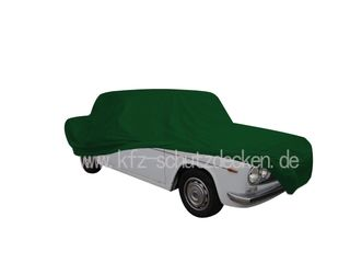 Car-Cover Satin Grün für Lancia Fulvia Berlina