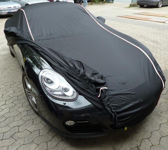 Ad Performance Car Cover Satin Black For Porsche Cayman