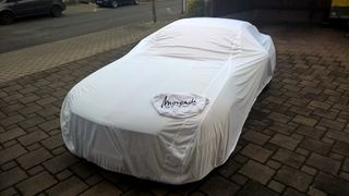 Car-Cover Satin White für Mercedes SLK R172