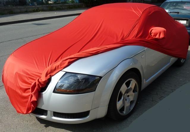 Car Cover Satin Red F 252 R Audi Tt 1