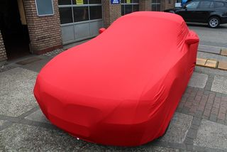 Red AD-Cover ® Mikrokontur with mirror pockets for BMW Z4...