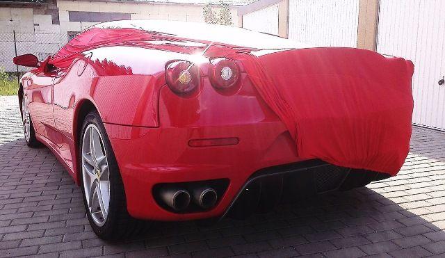 Vollgarage Mikrokontur Rot Ferrari F430