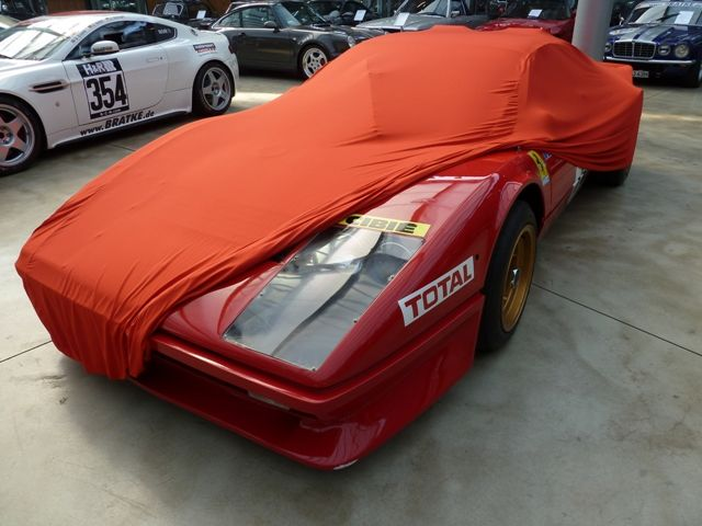 Vollgarage Mikrokontur Rot Für Ferrari Bb512