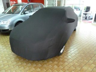 Black AD-Cover ® Mikrokuntur with mirror pockets for VW...