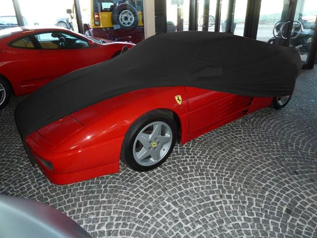 Vollgarage Mikrokontur Schwarz Für Ferrari 348