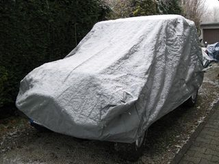 Car-Cover Universal Lightweight für Jeep Wrangler 1. Generation TYP CJ 7 (1976-1986)