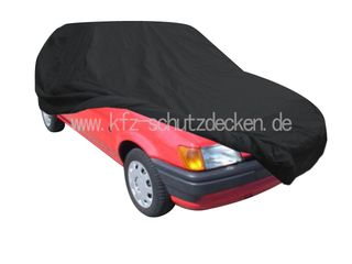Car-Cover Satin Black with mirror pockets for  Ford...