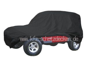 Car-Cover Satin Black für Jeep Wrangler 4.Generation 2...