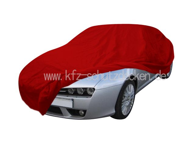 CarCover Samt Red For Alfa Romeo Brera TYP - Alfa romeo car cover