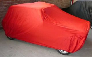 Car-Cover Satin Red für Autobianchi A 112