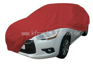 Car-Cover Satin Red für  Citroén DS4