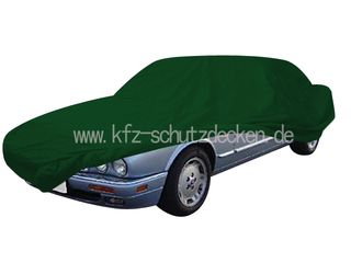Car-Cover Satin Grün für Jaguar XJ X308