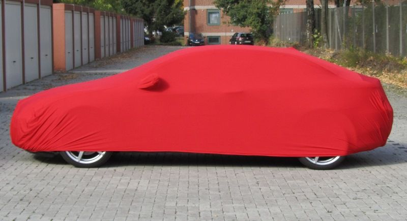 Red ADCover Stretch With Mirror Pockets For Alfa Romeo GT Coupe - Alfa romeo car cover