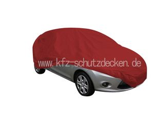 Red AD-Cover ® Stretch with mirror pockets for  Ford...