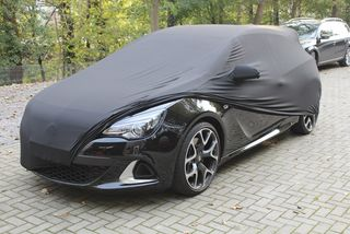 Black AD-Cover ® Stretch with mirror pockets for Opel...
