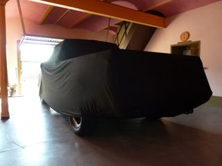 Schwarzes AD Mikrokontur Pick-Up Car-Cover 625x203x157cm.