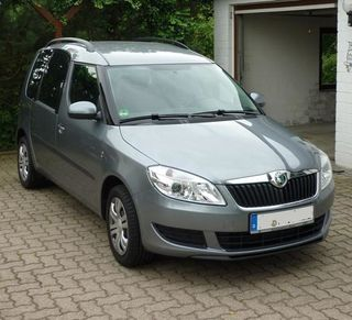Vollgarage Anti-Frost für Skoda Roomster (5J)