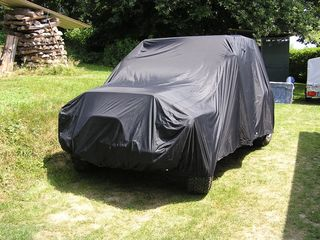 Car-Cover anti-freeze for Jeep Wrangler 4. Gen. 2 doors...