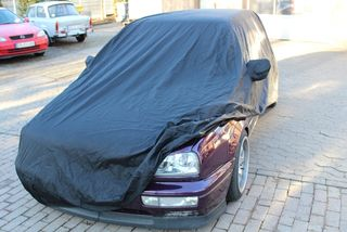 Car-Cover anti-freeze with mirror pockets for Golf III