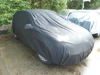 Car-Cover anti-freeze with mirror pockets for Renault Clio