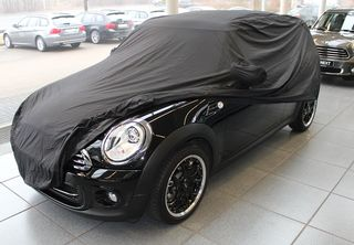 Car-Cover anti-freeze with mirror pockets for Mini Clubman