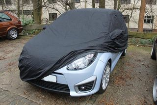 Car-Cover anti-freeze with mirror pockets for Renault Twingo