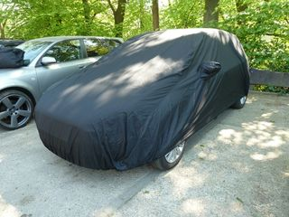 Car-Cover anti-freeze with mirror pockets for Seat Toledo