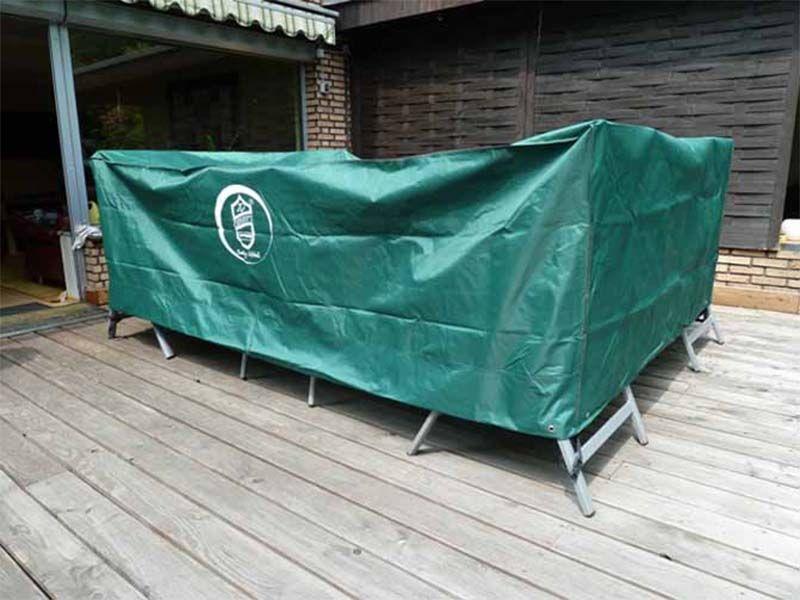 Schutzhülle Für Gartentisch Mit Stühlen 160x180x95