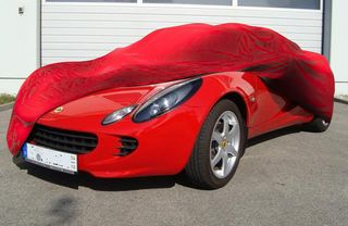 Car-Cover Satin Red für Lotus Elise S2