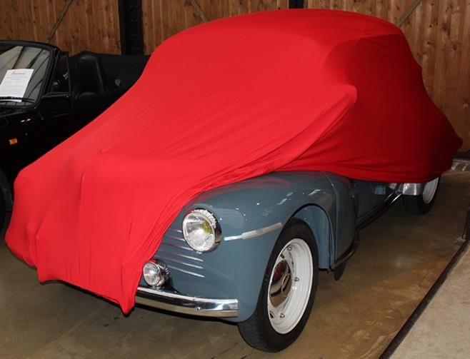 Rote stoffgarage f r renault 4cv 1947 1961 for Garage renault rots