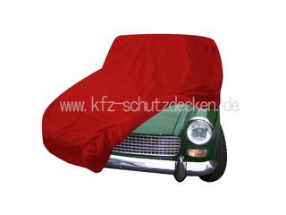 Car-Cover Samt Red for  Austin Healey Sprite MK II - MK IV