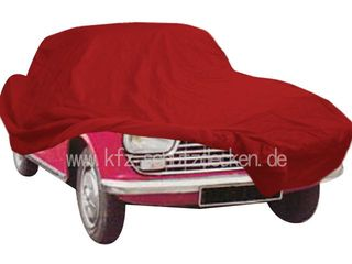 Car-Cover Satin Red für  Peugeot 204 Coupe 1966-1970