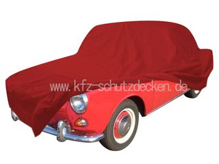 Car-Cover Satin Red für  VW 1500 1961-1970