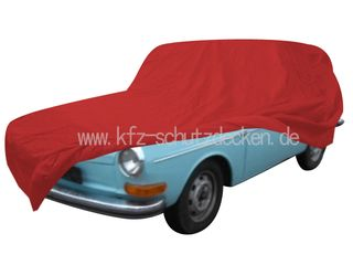 Car-Cover Satin Red für  VW 1600L Variant 1963-1973