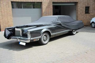 Car-Cover Satin Black für  Lincoln Continental MK IV ab 1972