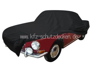 Car-Cover Satin Black for  VW Karmann Ghia Typ 34 1966-1969