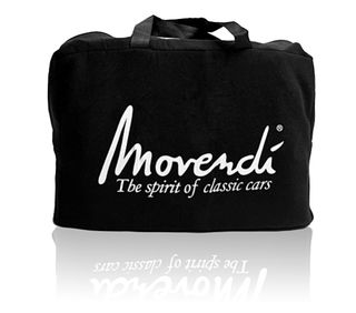 Movendi Car-Cover Satin Black 360 x 145 x 115 cm.